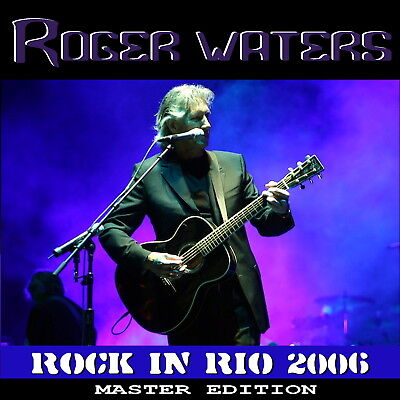 ROGER WATERS - ROCK IN RIO 2006 LISBON LIVE CD - Limited & Numbered