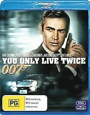 You Only Live Twice - Brand New & Sealed Blu Ray (Sean Connery) James Bond 007