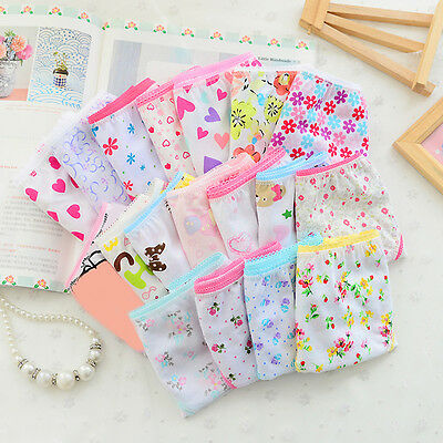 Baby Kids Girls Underpants Soft Cotton Panties Child Underwear Short Sell