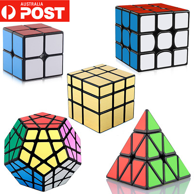 Magic Cube 3x3x3 2x2 Megaminx Super Smooth Fast Speed Rubik Puzzle Rubics Rubix