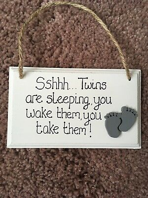 Twins Gift New Baby Mothers Day Birthday Shower Mum To Be