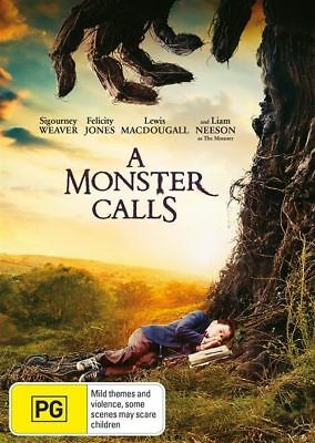 A Monster Calls (DVD, 2017), NEW SEALED AUSTRALIAN RELEASE REGION 4