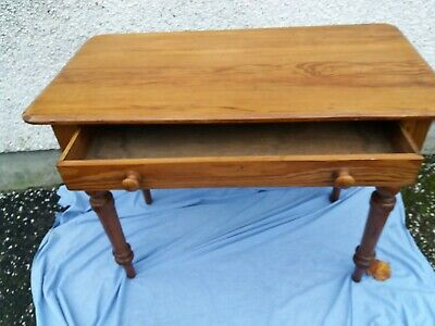 Victorian Pitch-pine Writing Table