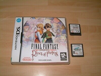 Final Fantasy Crystal Chronicles Ring Of Fates + Ff 3 Iii .. Ds 2Ds 3Ds Games