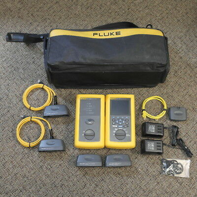 Fluke DSP-4000 Cable Analyzer with DSP-4000SR Smart Remote