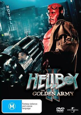 Hellboy II: The Golden Army (DVD, 2008), NEW SEALED AUSTRALIAN RELEASE REGION 4