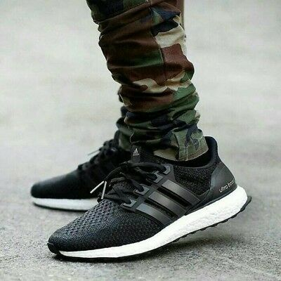 2400157453fa7 New In Box adidas Ultra Boost 2.0 Core Black White PK UK 8 US 8.5 EU