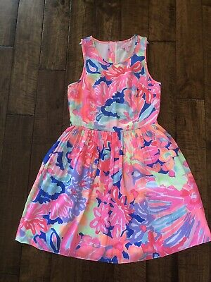 73f4aef22ae8 LILLY PULITZER PLAYA Hermosa Cold Shoulder Benicia Tunic Dress S New ...