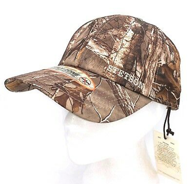af95d992758 New Stetson Hat Camouflage RealTree No Fly Zone Camo Baseball Cap  Adjustable NWT
