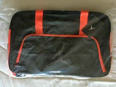 96ccf89510 Air Jordan Jumpman Duffle Bag Black with Red Orange accents 656912-010 One  Size