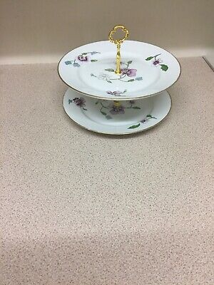 2 Tier Hand Made Cake Stand /afternoon Tea