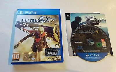 Final Fantasy Type 0 Hd Ps4 Playstation 4 - Completo Vers Ita - Ottimo
