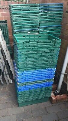 Bale Arm Storage Crates, Industrial Strength Plastic. Very Strong & Durable.