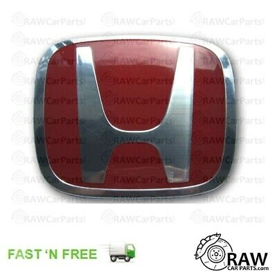 Honda Civic Type R EP3 2003-2006 Facelift Front Grill Badge RED *ORIGINAL*