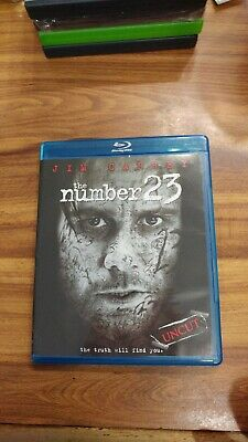 The Number 23 [Blu-ray] Blu-ray Jim Carrey scary uncut horror movie