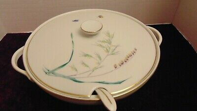 H & C Selb Heinrich Bavaria Germany- Sommer Pattern Soup Tureen with Matching La