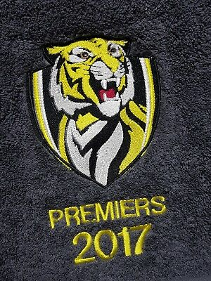Embroidered Towel Bath Sheet - Tigers