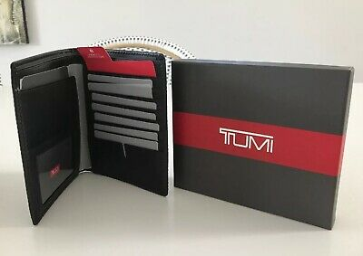 Tumi Passport Case Brand New Nassau SLG Black