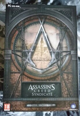NEW ASSASSINS CREED SYNDICATE Charing Cross Edition (Collectors) PC DVD-ROM