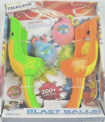 Chalk Blast Balls / Catch & Throw, Tosser Rival Pack