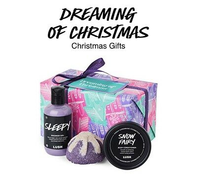 Lush Cosmetics Dreaming Of Sleepy Gift Set Gifts Brand New Birthday 26 00