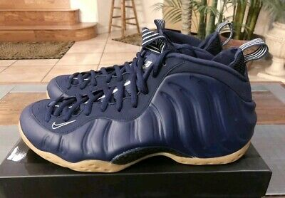 buy popular bc0d7 bdd8f 2019 AIR FOAMPOSITE ONE Sz 15 Midnight Navy Gum 314996-405 AUTHENTIC-RARE  SIZE🤩
