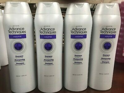 *Lot of 4* Avon Advanced Techniques Ultimate Volume Shampoo Free 3 day shipping