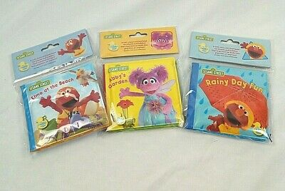 1 2 3 Sesame Street Elmo's World Mini Bath Book (Assorted Titles )