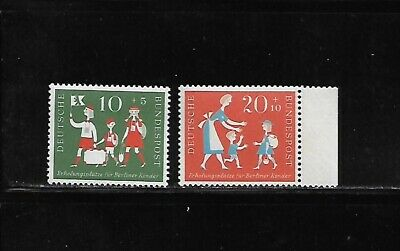 Germany MNH 1957 Semi postal stamps complete set B354-B355