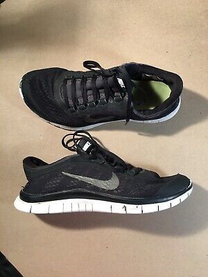 27344d06d5a02 NIKE FREE 3.0 V5 Women s Running Shoes Size 6 in Gray and Neon Green ...