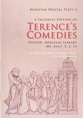 A Facsimile Edition of Terences Comedies Oxford Bodleian Library DVD ROM