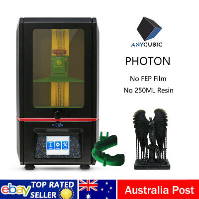 """ANYCUBIC LCD Photon 3D Printer UV Resin Fully Assembled Light Cure 2.8"""" TFT 2K"""