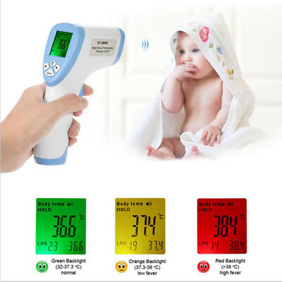 Thermometre Infrarouge Digital IR Temperature Frontal Sans Contact bébé Enfants