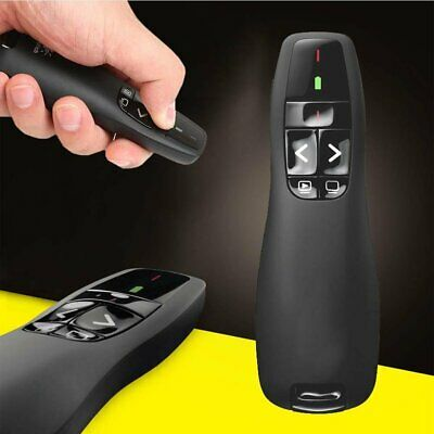 Wireless Presenter Pointers Pen USB RF Remote Control PPT Presentation Red Laser