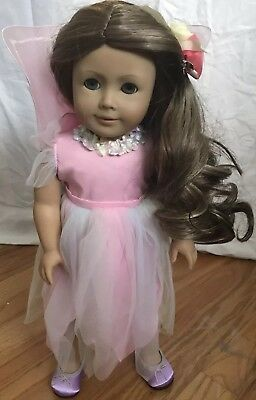 American Girl~OOAK~Beautifully Custom wig~Blue eyes~Fairy