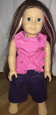 American Girl~OOAK~Kit Face & Eyes~Beautifully Custom wig