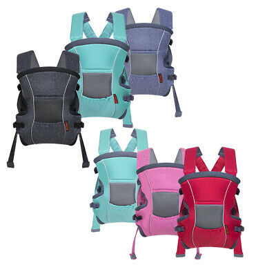 Soft Newborn Multi-Position Baby Carrier Ergonomic Backpack 3 in 1 Baby Carrier