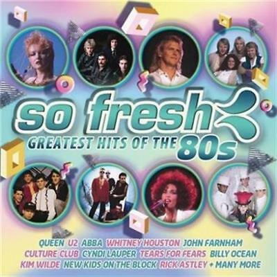 So Fresh Greatest Hits Of The 80s 2CD BRAND NEW Queen U2 Abba Kim Wilde