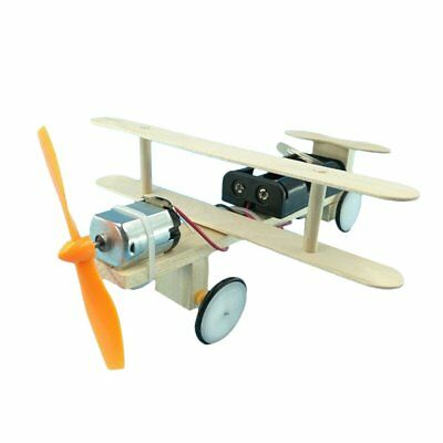 Electric Skating Aircraft Science Education Toys DIY Construction Toy ChildrenGE
