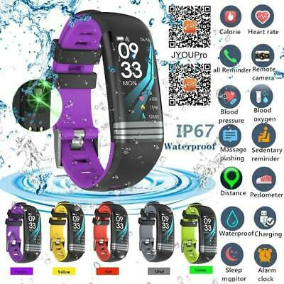 Heart Rate GPS Waterproof Smart Bracelet Watch Wristband Sport Fitness Track CA