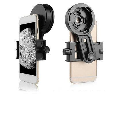 Universal Telescopes Clip Camera Adapter Eyepiece Holder For All Mobile  HOT