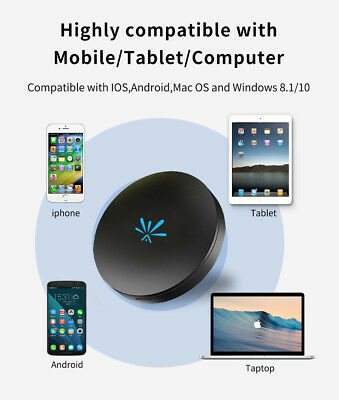 1080P HD WiFi Display Receiver TV Dongle Airplay Miracast DLNA HDMI TV Adapter J