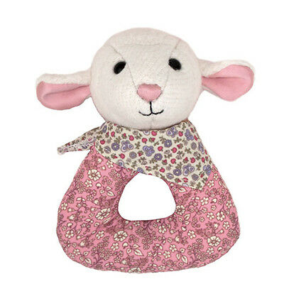 Baby Organic Eco Soft Toy Lamb Rattle