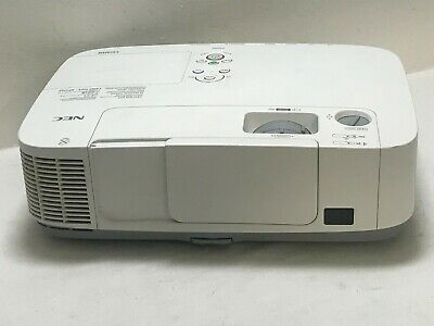 Nec P420X Hdmi Lcd Projector Lamp Hour Used 3073H | Ref: 1509
