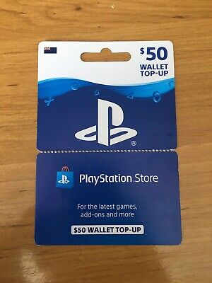 New Zealand PlayStation PSN $50 card