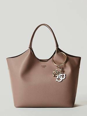 Shopper Flora Pochetten Borsa Guess Beyge Donna Media A Spalla New 19 Morbida