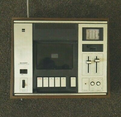 Vintage Sanyo Cassette Tape Deck - In Excellent Condition
