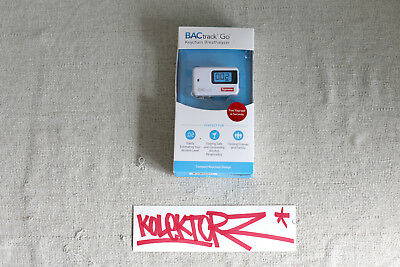 Supreme Bactrack Go Keychain Breathe Analyser Ss18 New Rare Ltd Sup Bogo Logobox