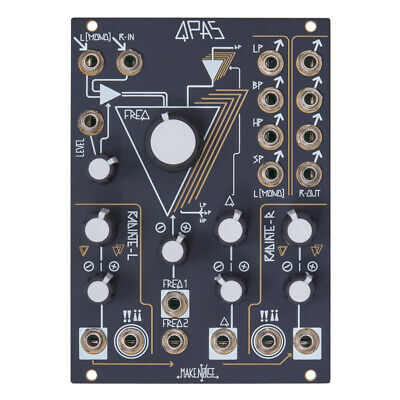 Make Noise QPAS Stereo Analog Filter Eurorack Module