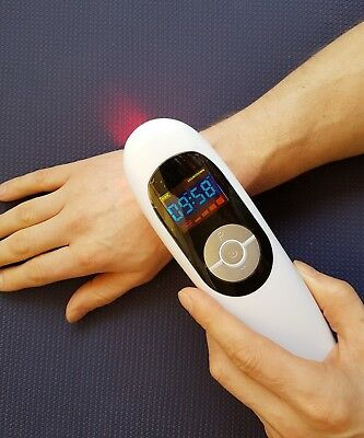 LOW LEVEL LASER THERAPY DEVICE 210mW + safety goggles